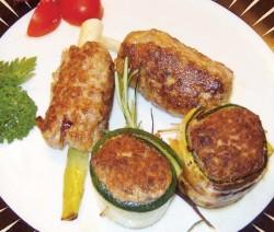 Rindfleisch-Gemüse-Spiesschen