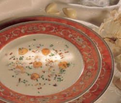 Feine Knoblauchsuppe Rezept