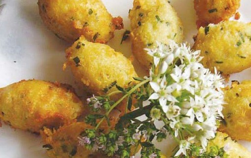 Knoblauch-Käse-Nockerl Rezept