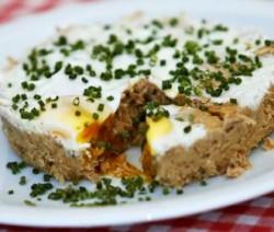 Thunfisch-Omelett aus der Mikrowelle